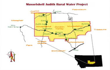 Musselshell Judith Rural Water System Obtains Federal Authorization!